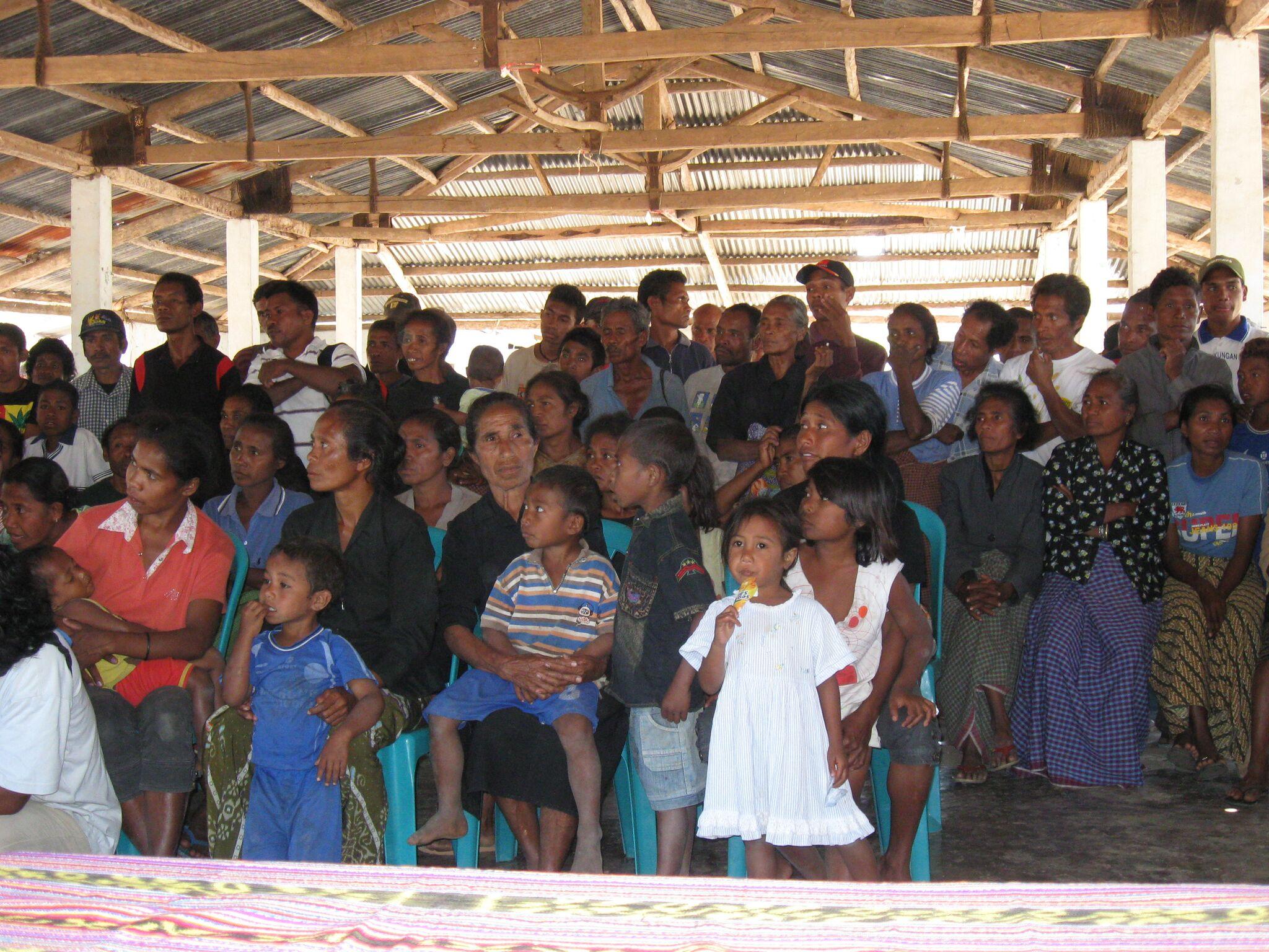 Programme beneficiaries
