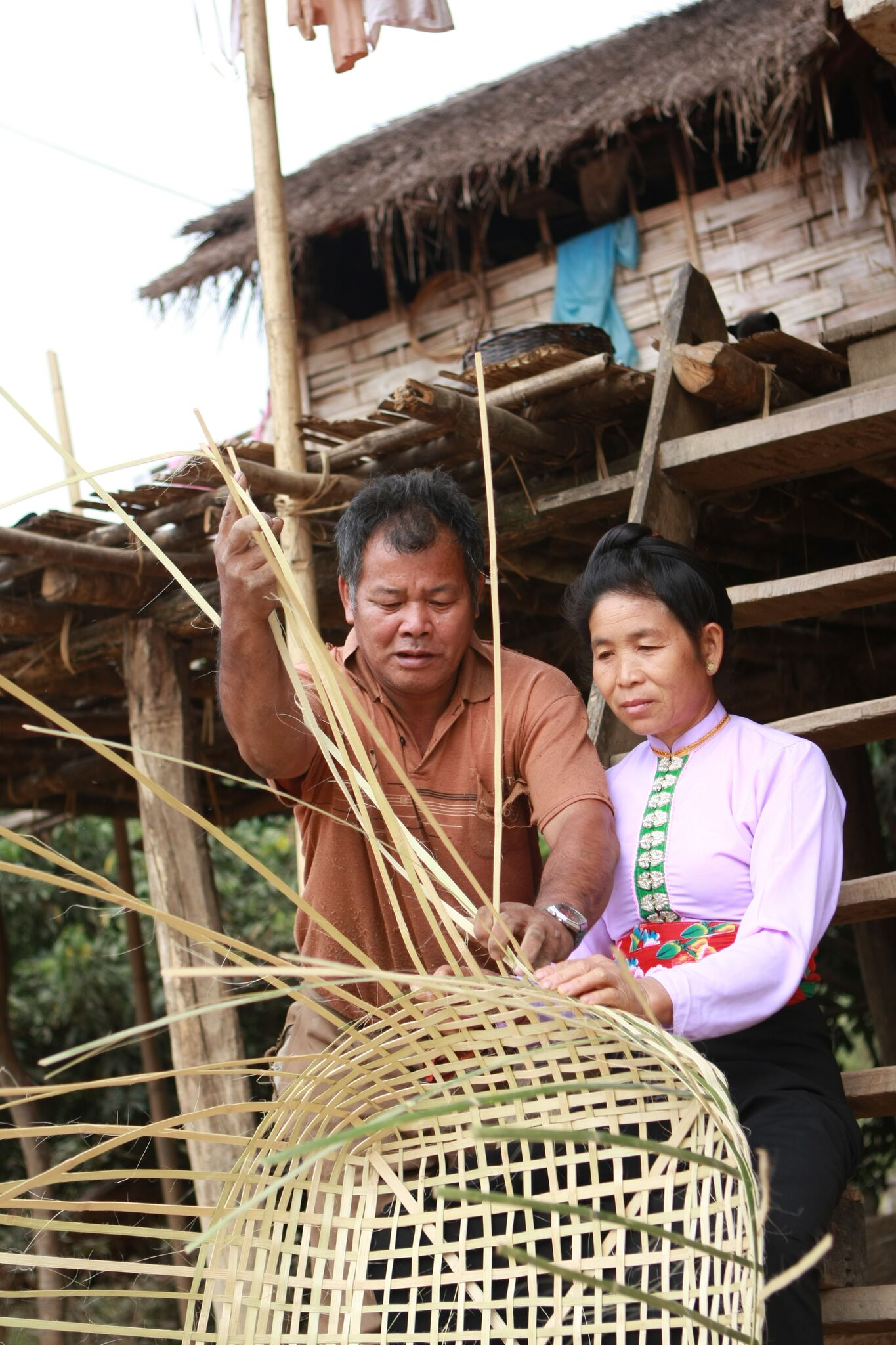 Programme beneficiaries from the Hoa Tien Textile Cooperative