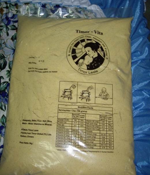 Timor Vita nutritional supplement