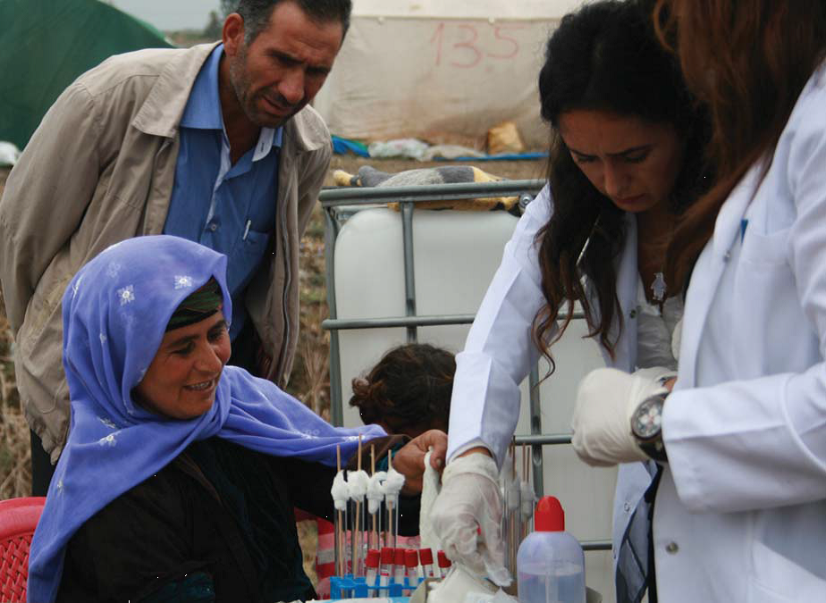 Tropical disease prevention clinic in the Seyhan river basin