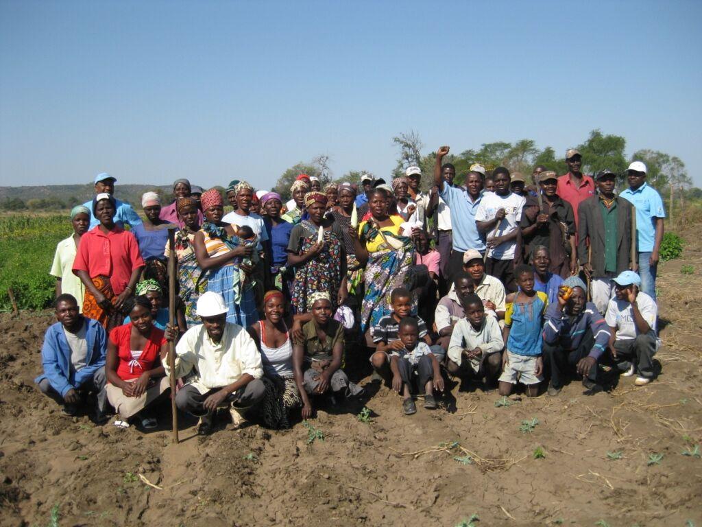 Members of a farmers association