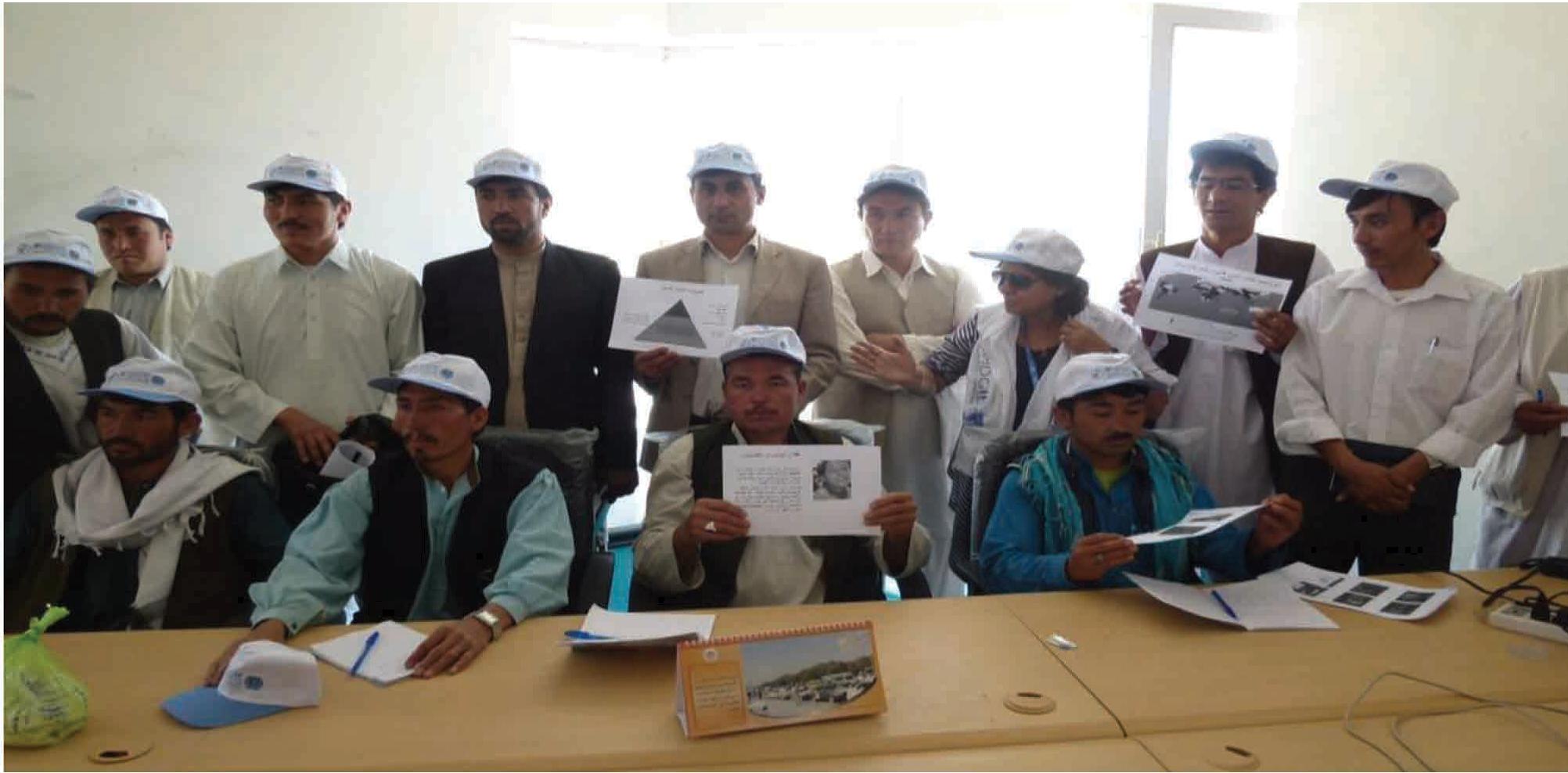 Participantes en un curso de formación sobre nutrición en la salud pública