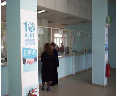 La empresa de Servicio de Agua y Alcantarillado de Korce es una empresa de abastecimiento de agua albanesa, de tamaño mediano, con 20.600 conexiones que representa una población total de 87.500 habitantes
