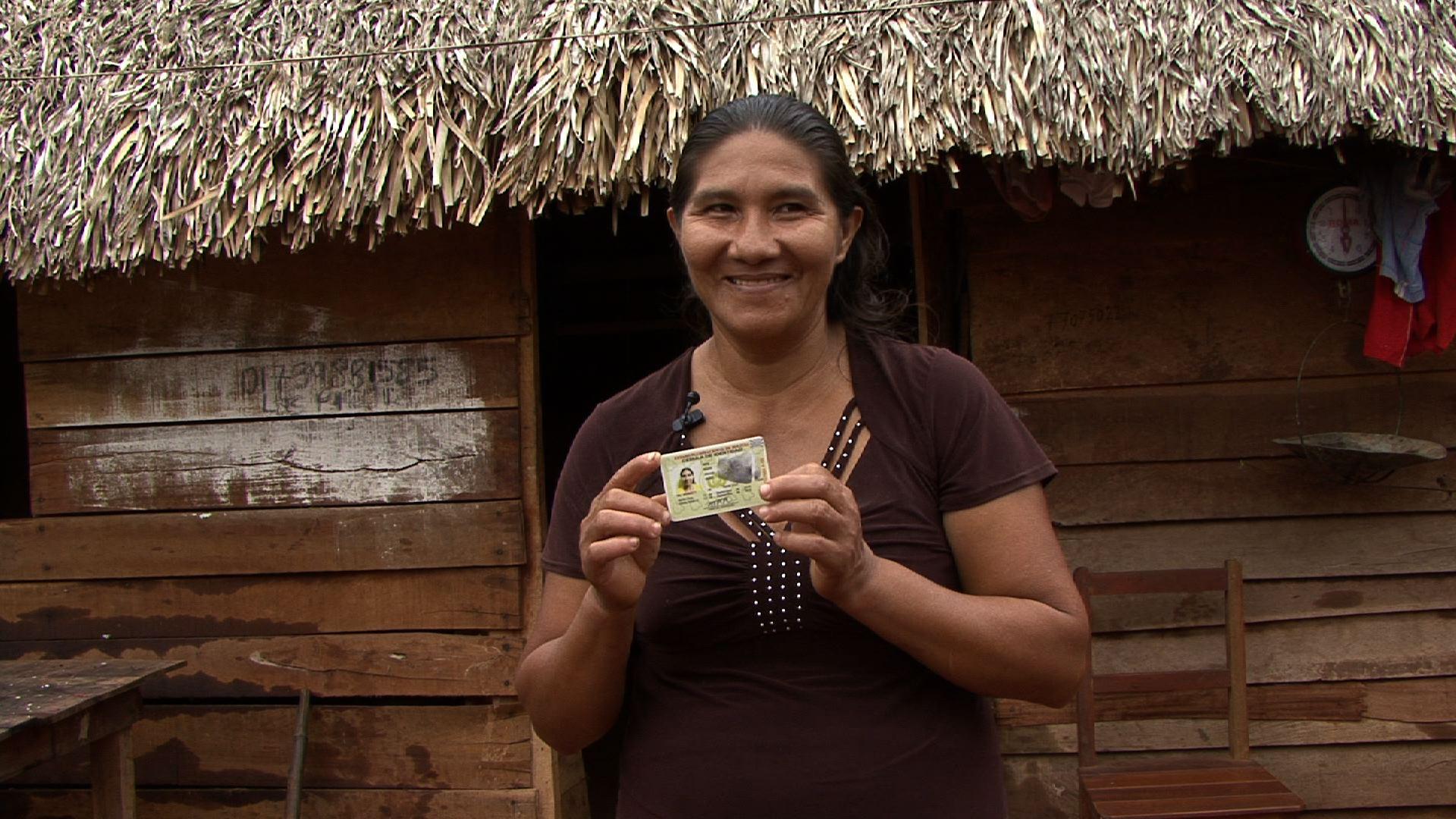Nicolasa Rora, beneficiaria del programa conjunto