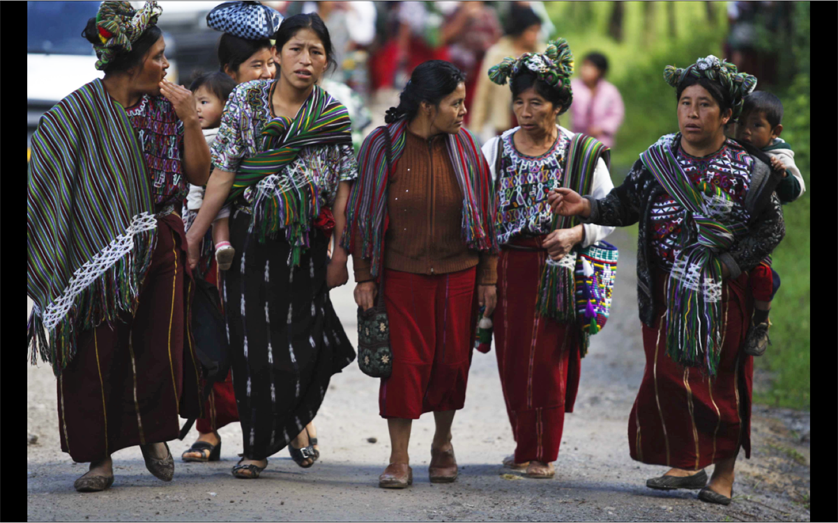 The poverty in Guatemala continues to be largely feminine, rural and indigenous