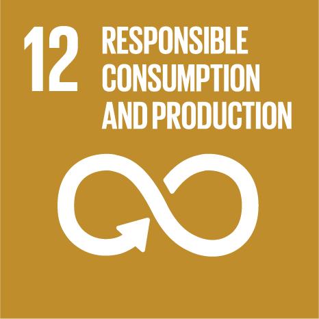 Goal 12: Responsible consumption, production