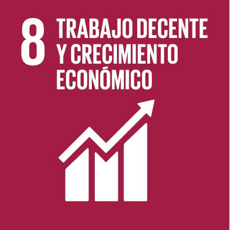 Objetivo 8: Trabajo decente y crecimiento económico