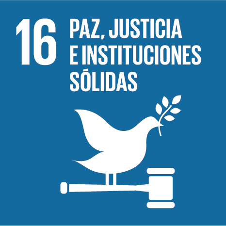 Objetivo 16: Paz, justicia e instituciones fuertes
