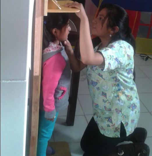 Medición del estado nutricional de los menores en el departamento de Potosí