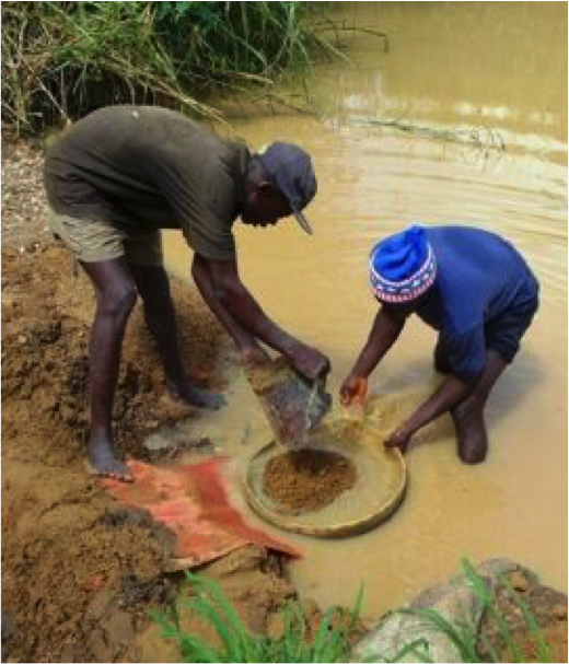 Diamond supplies are reaching their end, so artisanal miners are left with minimal opportunities to secure livelihoods
