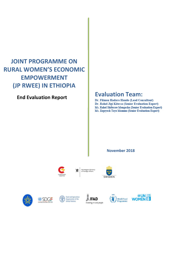 Joint Programme on gender equality and women empowerment - Rural