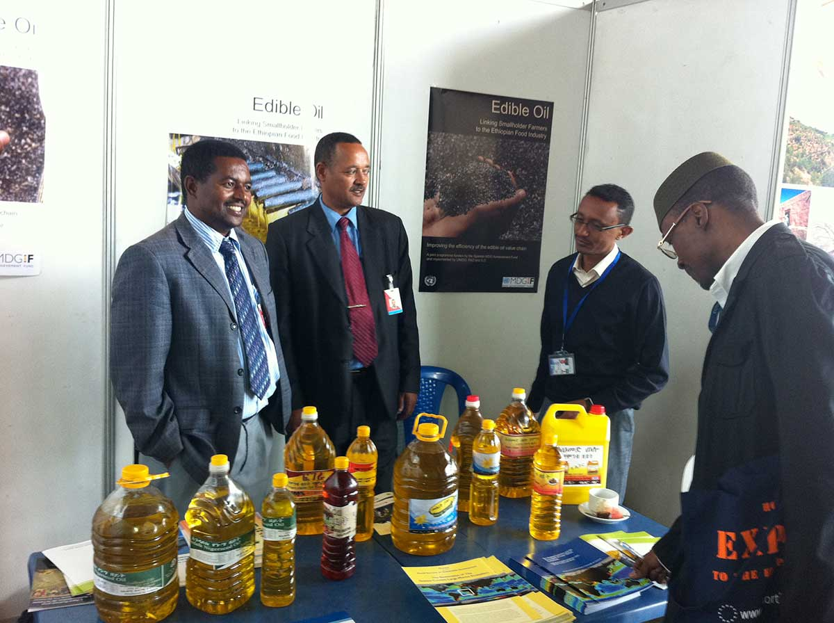 Processed edible oil