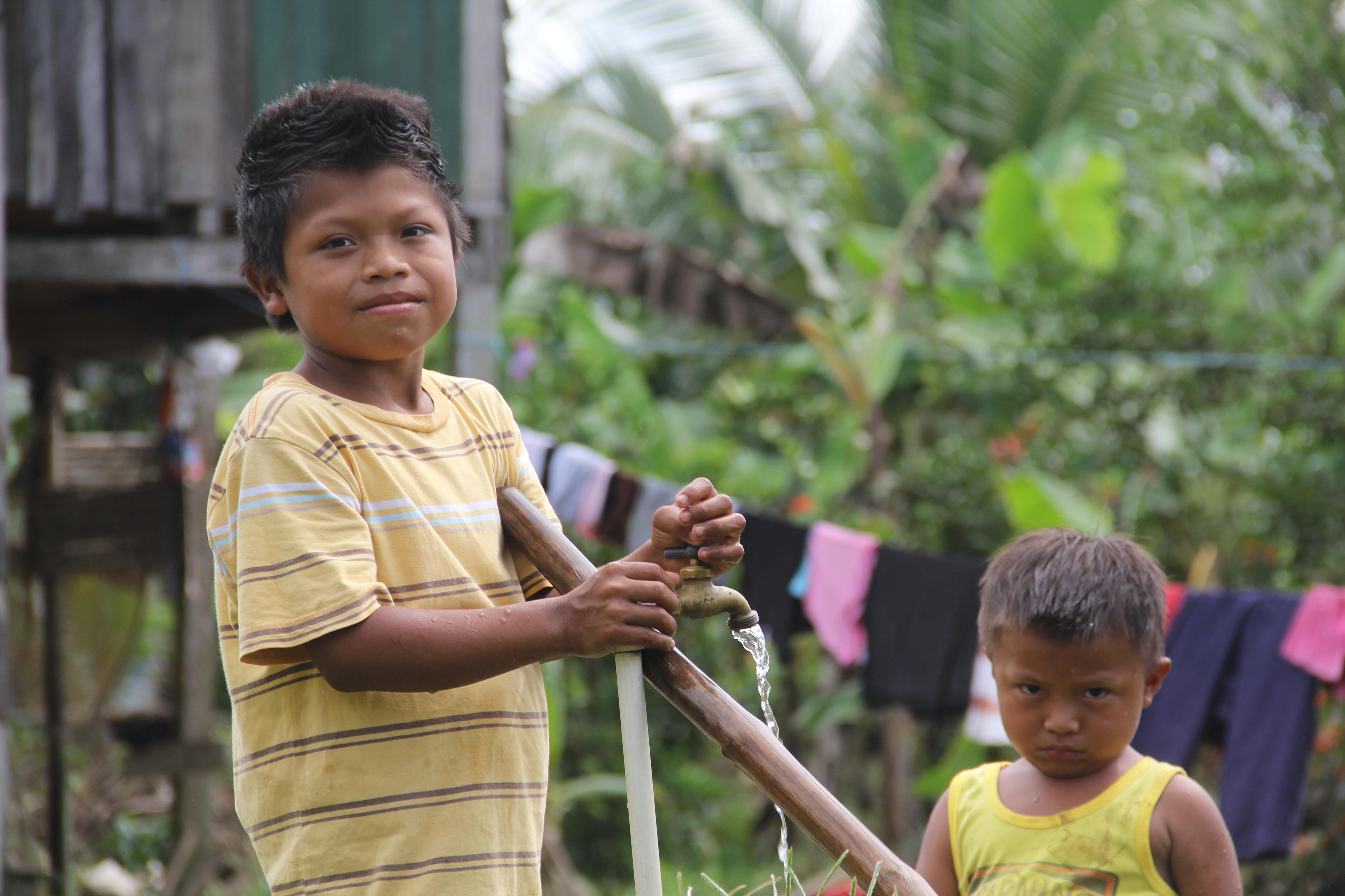 Safe and affordable water resources for all are crucial for poverty eradication and health protection