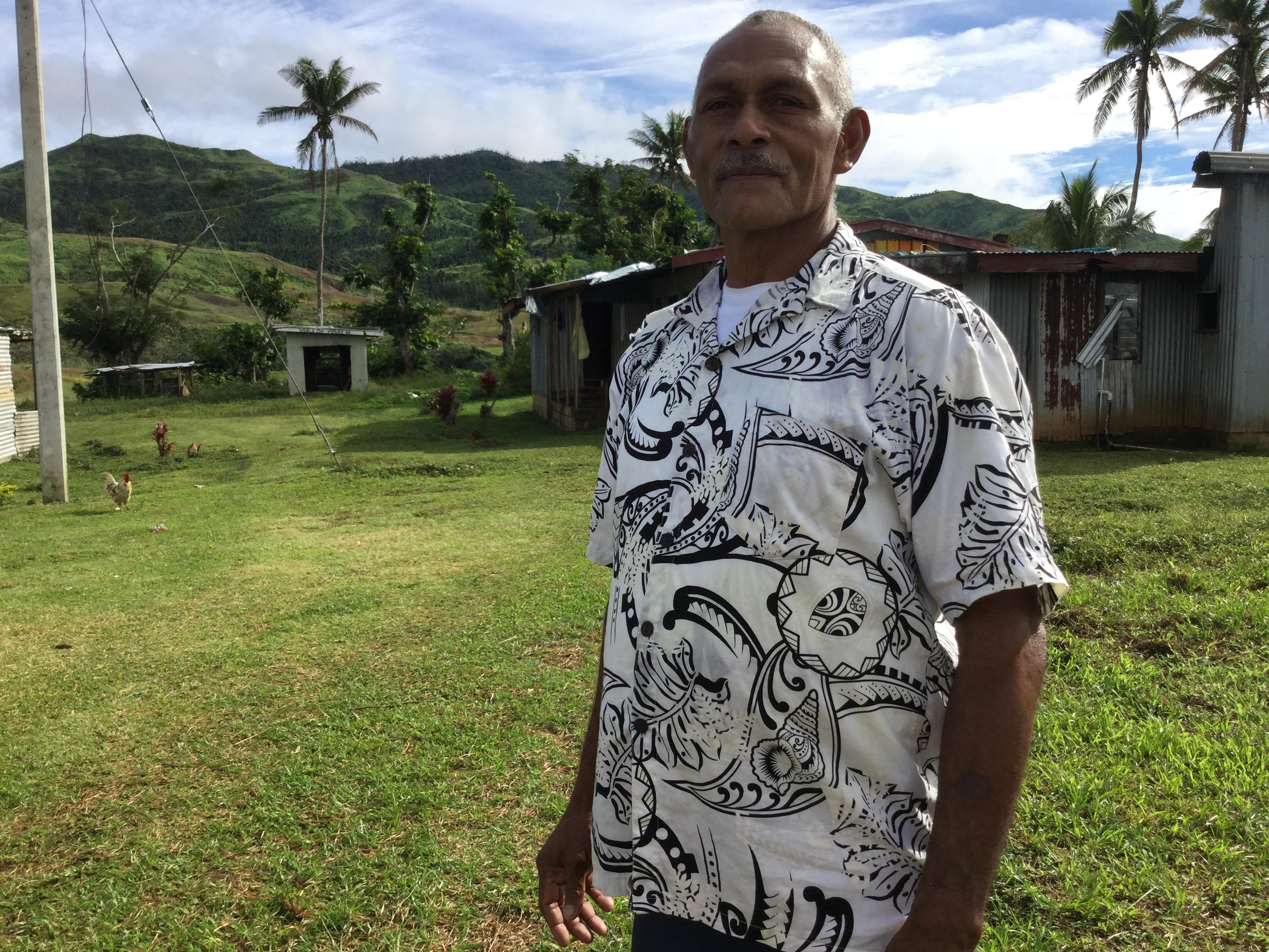 Mario Keni es uno de los beneficiarios del programa.