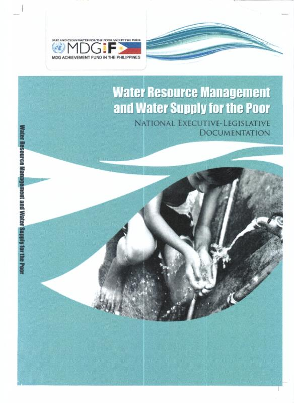 Water resource management and water supply for the poor in