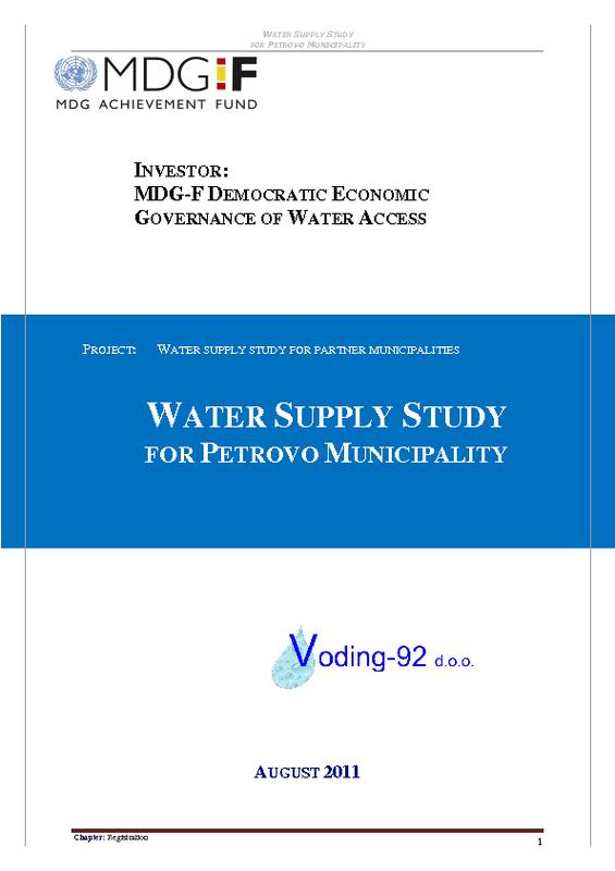 sustainable development and water supply Achieving the sustainable development goals pertaining to water and food security several of the objectives within sdg 6 pertain to water supply some of the objectives describe the need to increase water use efficiency, achieve sustainable withdrawals of freshwater resources.