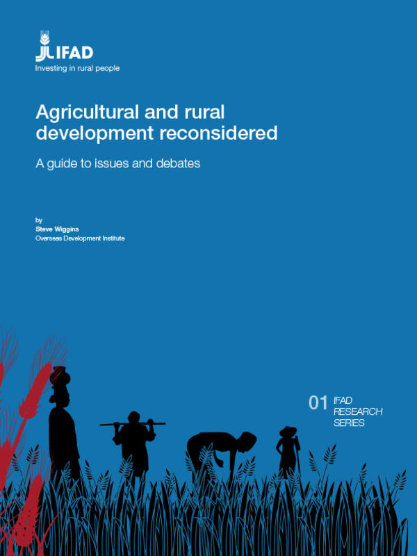 thesis on agriculture and rural development A thesis submitted to the department of rural development and agricultural  extension, school of graduate studies, haramaya university in partial  fulfillment.