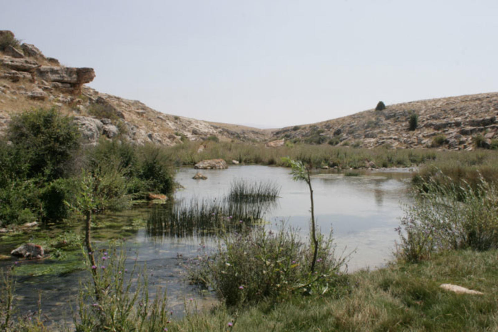 The Seyhan river in Turkey