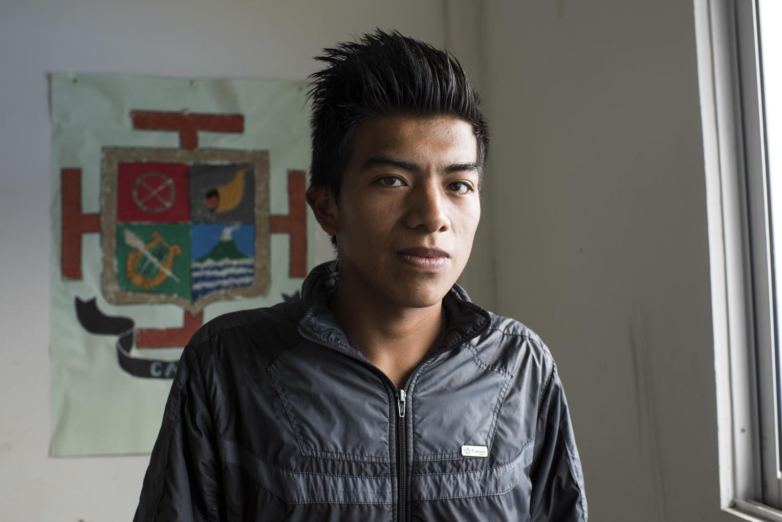 Yesid Alcibar Cordoba, 18 años y estudiante de grado 11. ©Fondo ODS / Freya Morales